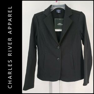 Charles River Apparel Woman Blazer Suit Small NWT